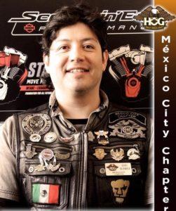 Eduardo Suárez - Road Captain
